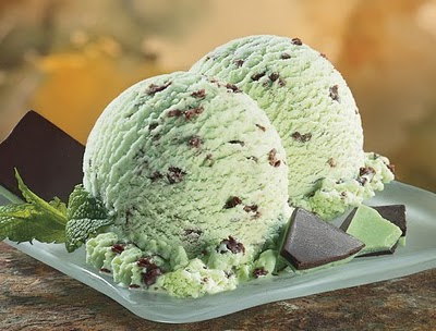 Chocolate chip ice cream or mint chocolate chip ice cream?